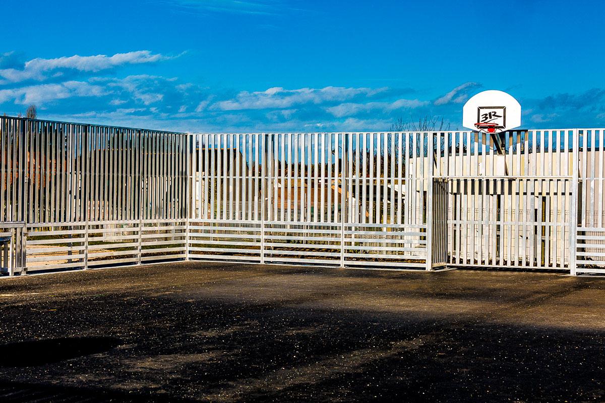 Aménagement d'un terrain multisports à Angres - 3R Playground - Candéliance