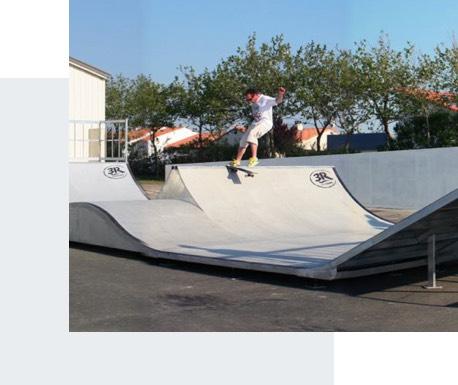 Aménagement sportif skatepark - Candéliance