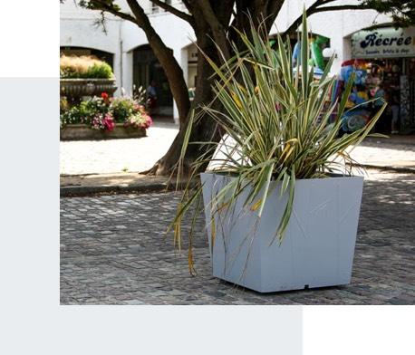 Aménagement urbain de centre-ville - Candéliance