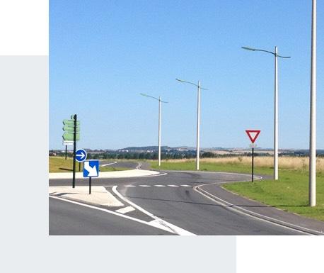 Eclairage routier - Candéliance