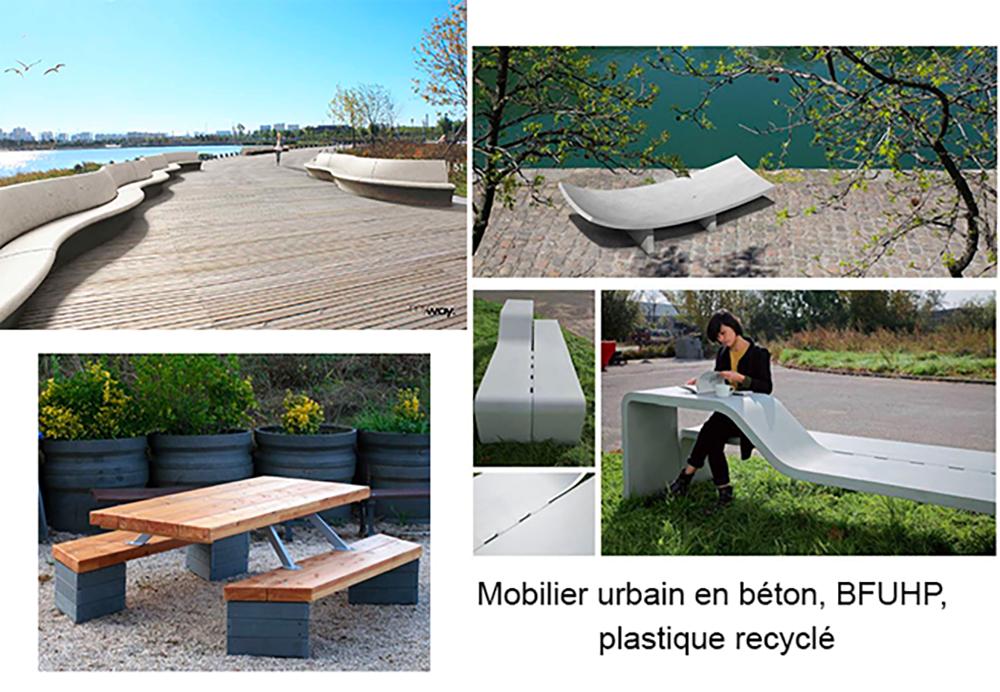 Variez les matériaux de votre mobilier urbain pour une meilleure expérience sensorielle