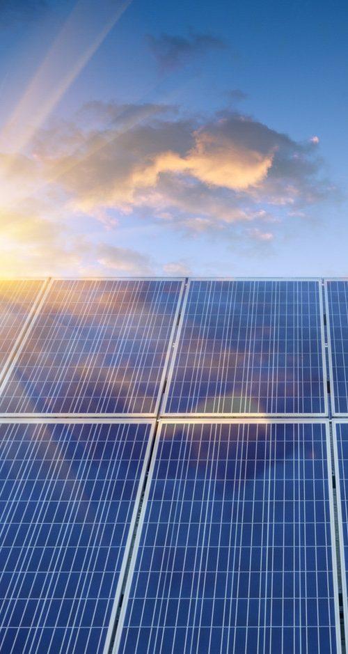 Panneaux solaires - Candéliance - Eclairage public