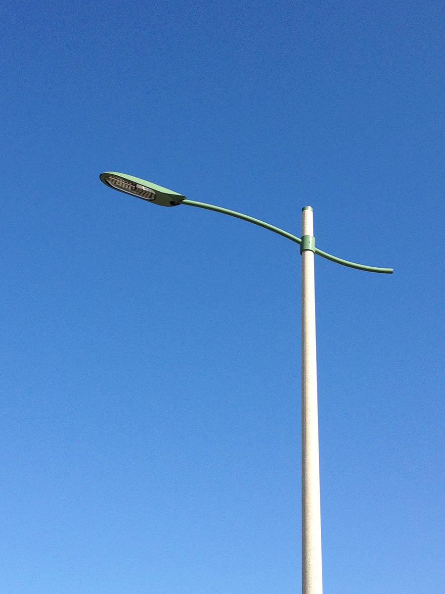 Eclairage LED au giratoire de Le Wast - Azuly Candéliance