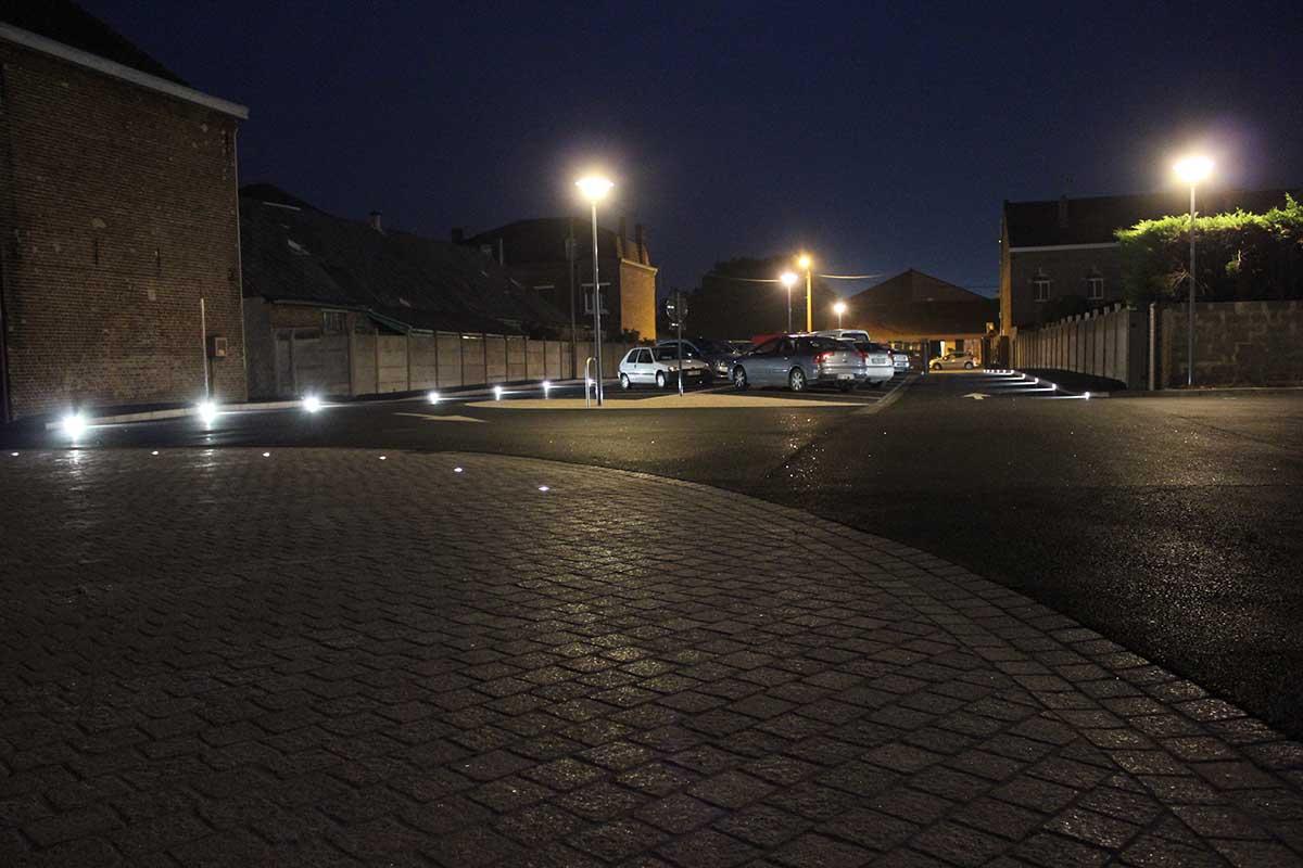 Eclairage routier - Projecteurs LED LEC à La Gorgue - Candéliance
