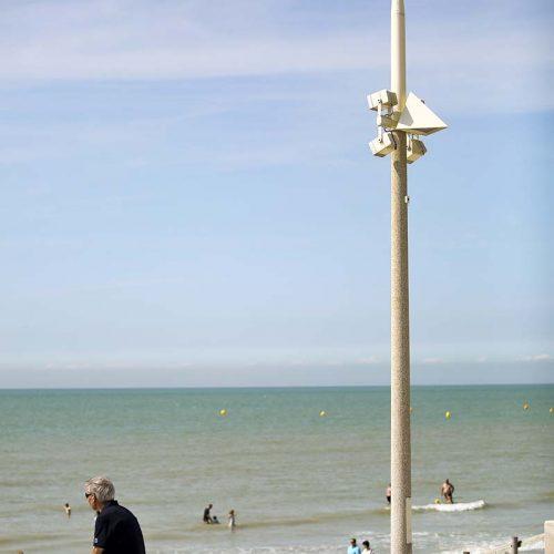 Eclairage public de front de mer à Neufchatel Hardelot par Azuly