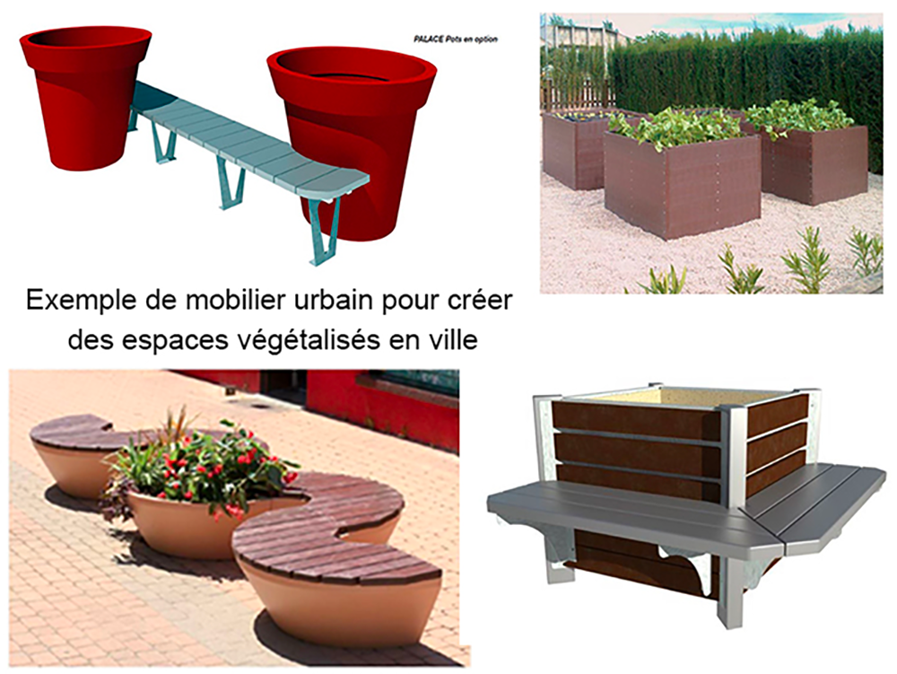 Des espaces végétalisés en ville