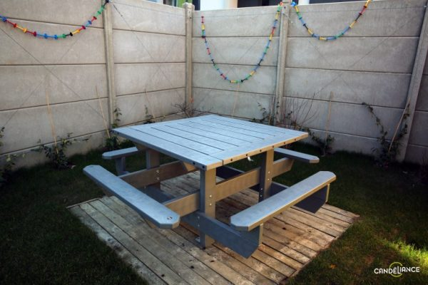 Table picnic recyclène Mix Urbain
