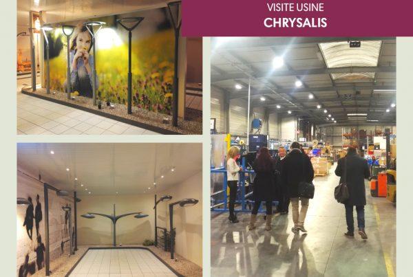 Visite Usine Chrysalis