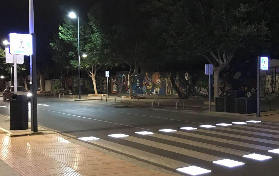 passage piéton lumineux intelligent sécurisation mobilité ville