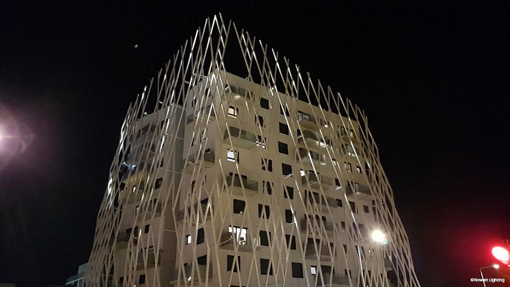 mise en lumière éclairage architectural la pépite